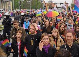 IX Marsz Równości w Łodzi