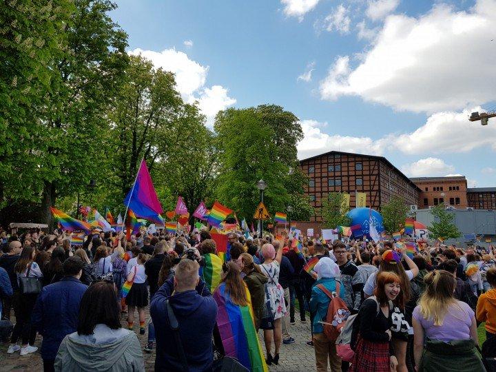 I Marsz Równości w Bydgoszczy - zdjęcie: 8/47