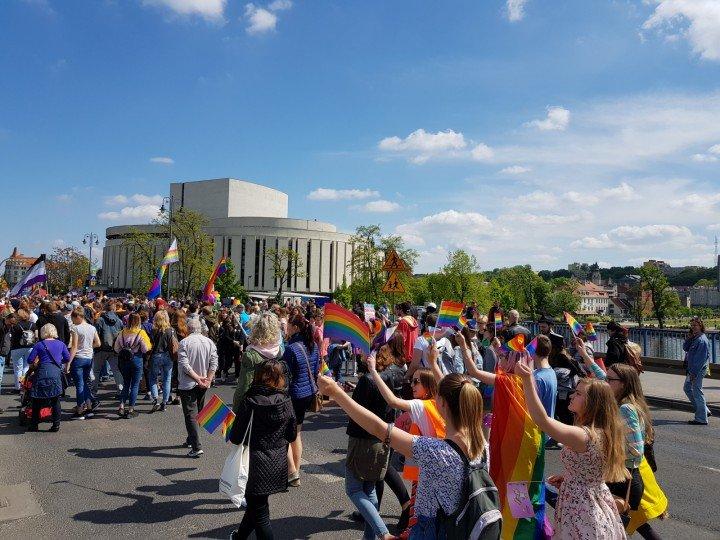 I Marsz Równości w Bydgoszczy - zdjęcie: 9/47