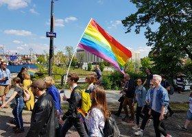 I Marsz Równości w Bydgoszczy