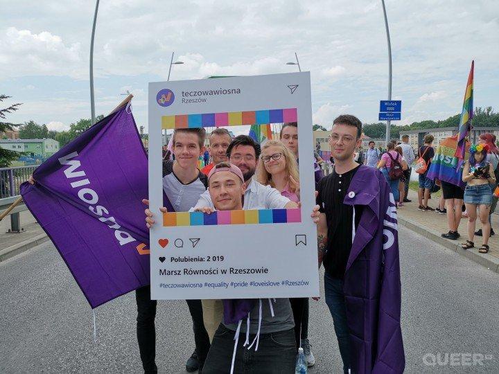 II Marsz Równości w Rzeszowie - zdjęcie: 6/75