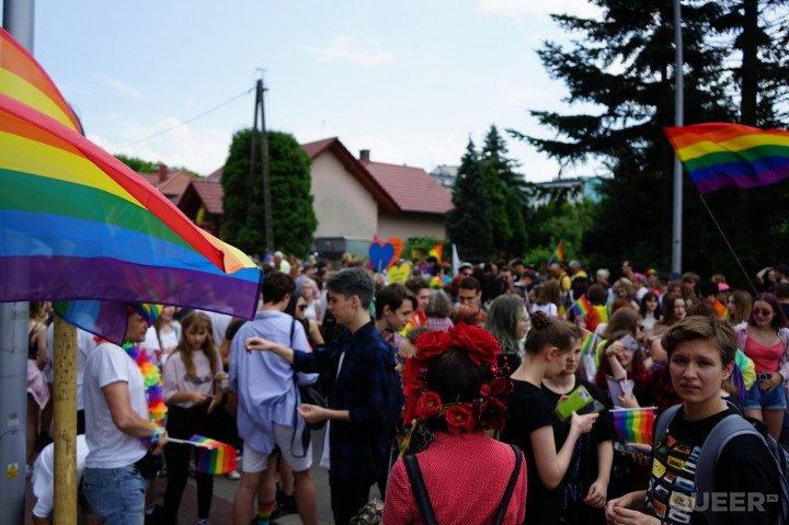 II Marsz Równości w Rzeszowie - zdjęcie: 7/75