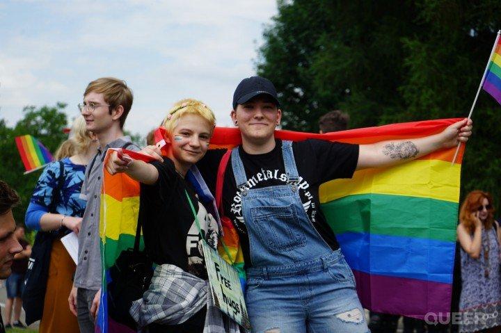 II Marsz Równości w Rzeszowie - zdjęcie: 1/75