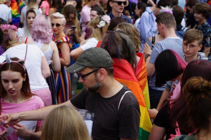 II Marsz Równości w Rzeszowie - zdjęcie: 9/75