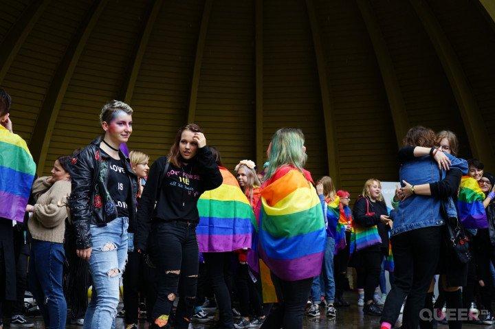 1. Marsz Równości w Kielcach - zdjęcie: 3/139