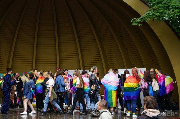 1. Marsz Równości w Kielcach - zdjęcie: 4/139