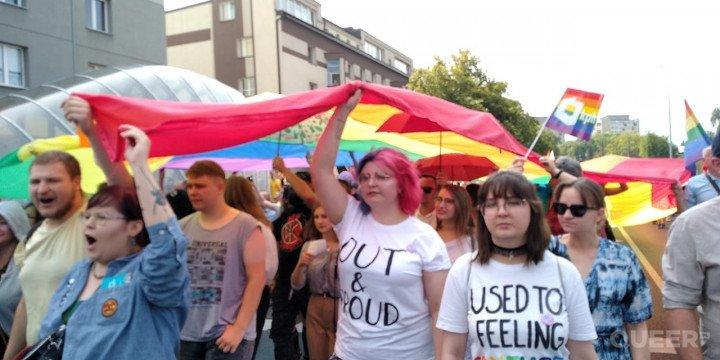 I Marsz Równości w Białymstoku - zdjęcie: 2/9