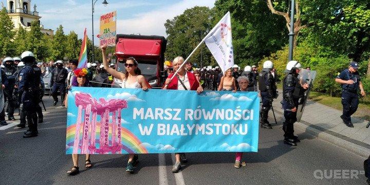 I Marsz Równości w Białymstoku - zdjęcie: 8/9