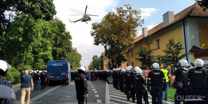 I Marsz Równości w Białymstoku - zdjęcie: 9/9