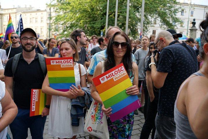 Kraków wolny od nienawiści - demonstracja solidarnościowa - zdjęcie: 5/31