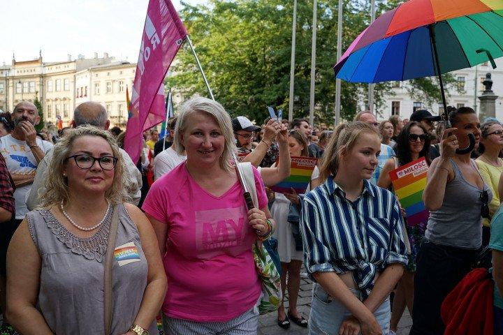 Kraków wolny od nienawiści - demonstracja solidarnościowa - zdjęcie: 7/31