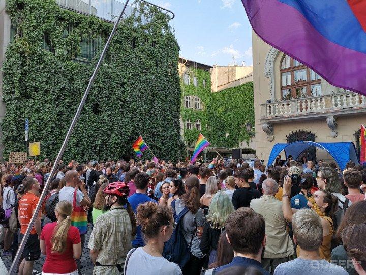 Kraków wolny od nienawiści - demonstracja solidarnościowa - zdjęcie: 9/31