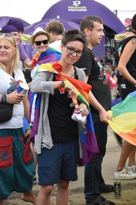 Marsz Równości na Pol'and'Rock Festival - zdjęcie: 2/20