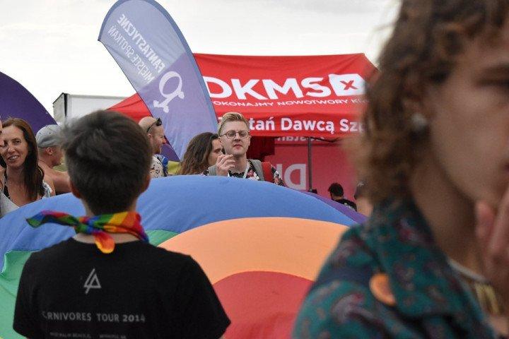 Marsz Równości na Pol'and'Rock Festival - zdjęcie: 6/20