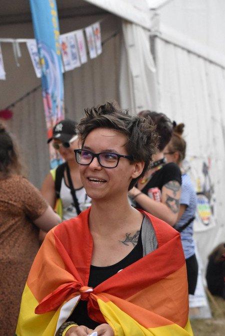 Marsz Równości na Pol'and'Rock Festival - zdjęcie: 7/20