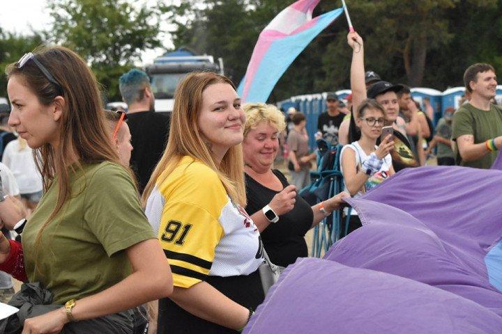 Marsz Równości na Pol'and'Rock Festival - zdjęcie: 8/20