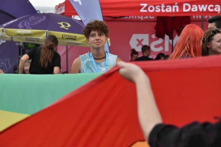 Marsz Równości na Pol'and'Rock Festival - zdjęcie: 9/20