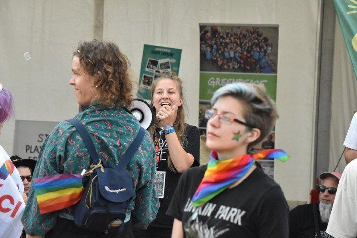 Marsz Równości na Pol'and'Rock Festival - zdjęcie: 10/20