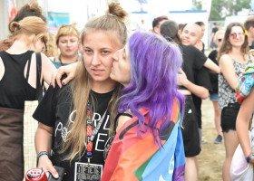 Marsz Równości na Pol'and'Rock Festival