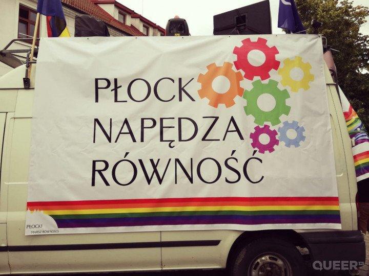 Pierwszy Marsz Równości w Płocku - zdjęcie: 1/17