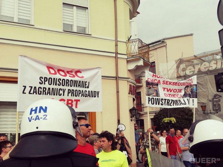 Pierwszy Marsz Równości w Płocku - zdjęcie: 7/17