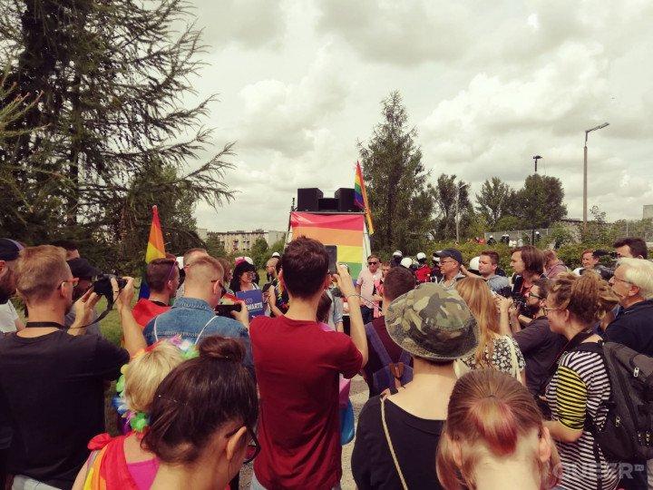 Marsz Równości w Radomsku - zdjęcie: 16/17