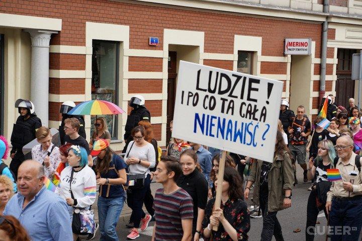 III Marsz Równości w Katowicach - zdjęcie: 30/88
