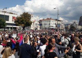Marsz Równości w Sarajewie