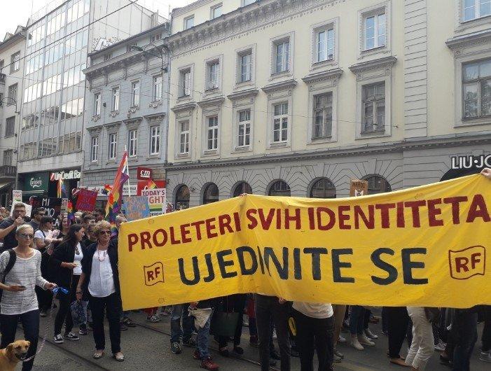 Marsz Równości w Sarajewie - zdjęcie: 3/12