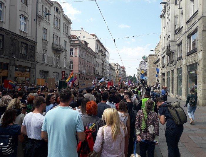 Marsz Równości w Sarajewie - zdjęcie: 5/12
