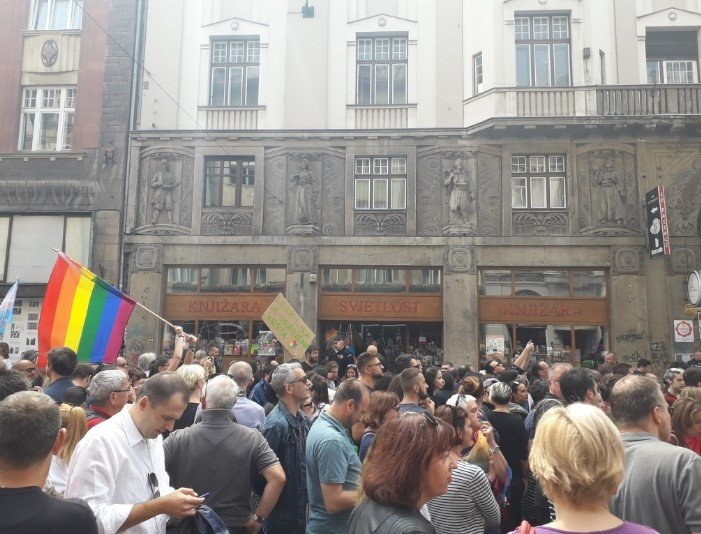 Marsz Równości w Sarajewie - zdjęcie: 6/12