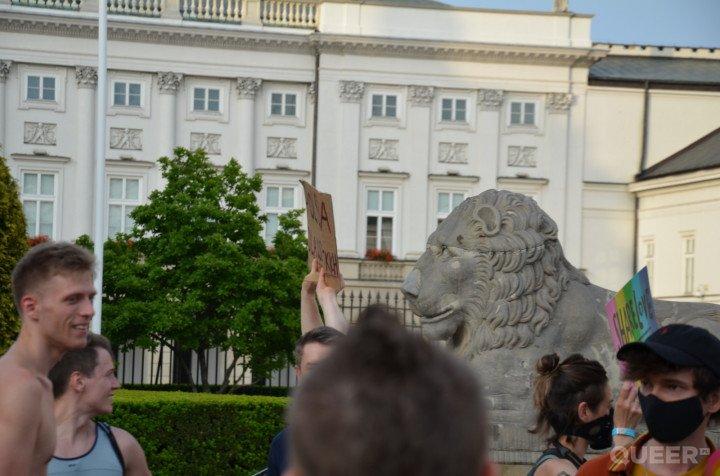 Tęczowe Disco pod Pałacem Prezydenckim - zdjęcie: 37/74