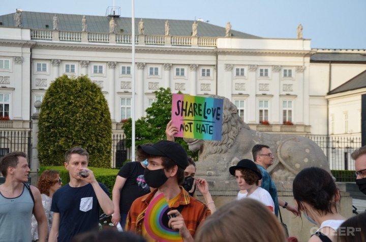 Tęczowe Disco pod Pałacem Prezydenckim - zdjęcie: 40/74