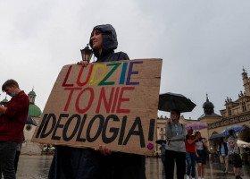 Manifestacja przeciwko Karcie Rodzin, Kraków
