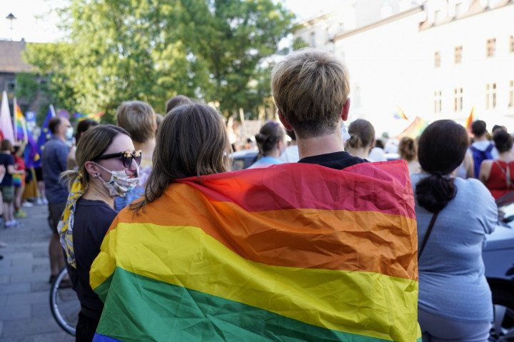 Protest solidarnościowy z Margot w Krakowie - zdjęcie: 2/20