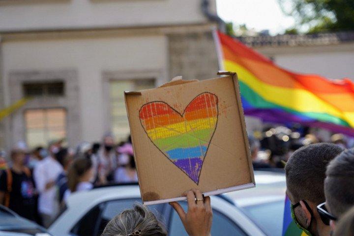 Protest solidarnościowy z Margot w Krakowie - zdjęcie: 15/20