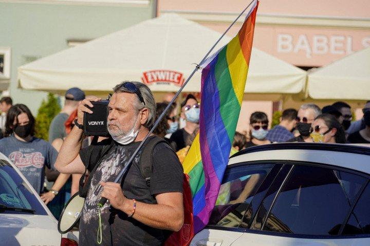 Protest solidarnościowy z Margot w Krakowie - zdjęcie: 19/20