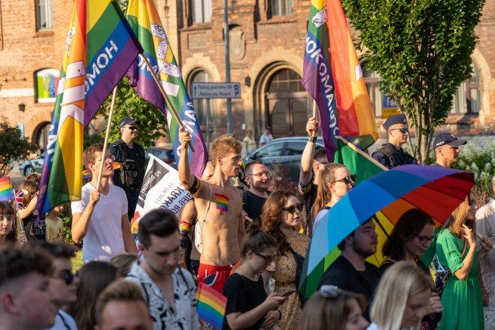 XVII Marsz Równości w Krakowie (2021) - zdjęcie: 4/41