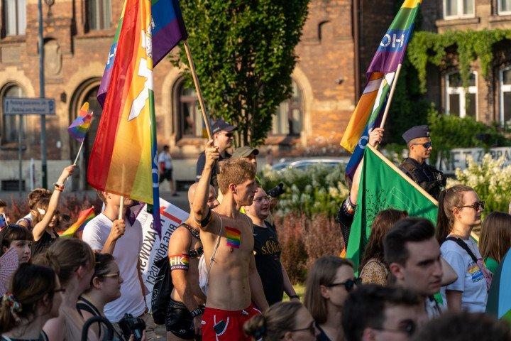 XVII Marsz Równości w Krakowie (2021) - zdjęcie: 5/41
