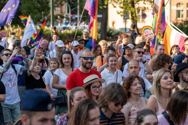 XVII Marsz Równości w Krakowie (2021) - zdjęcie: 7/41