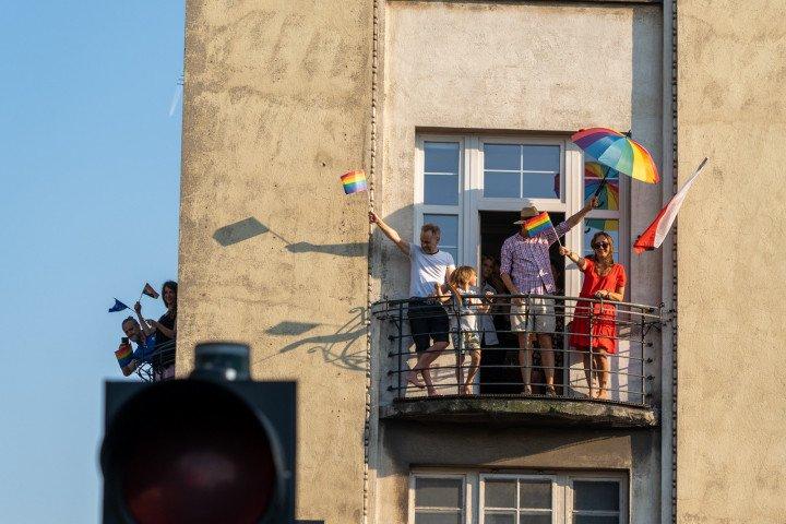 XVII Marsz Równości w Krakowie (2021) - zdjęcie: 8/41