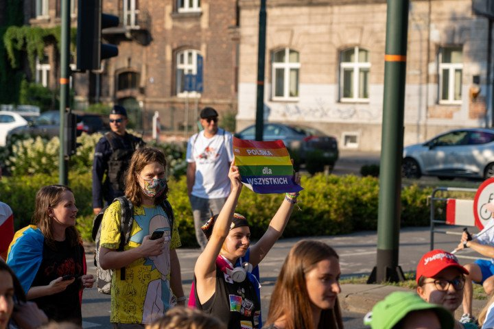 XVII Marsz Równości w Krakowie (2021) - zdjęcie: 10/41