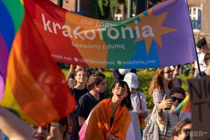 XVII Marsz Równości w Krakowie (2021) - zdjęcie: 3/41