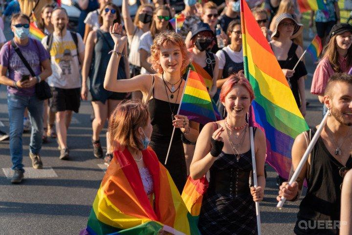 XVII Marsz Równości w Krakowie (2021) - zdjęcie: 1/41