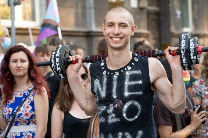 XVII Marsz Równości w Krakowie (2021) - zdjęcie: 2/41