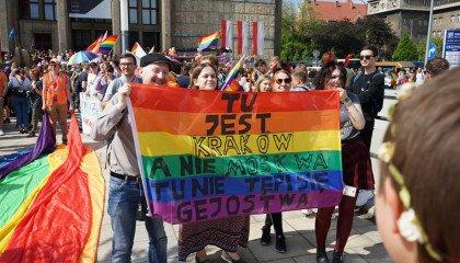 Krakowski Marsz Równości po raz pierwszy z honorowym patronatem prezydenta Jacka Majchrowskiego!